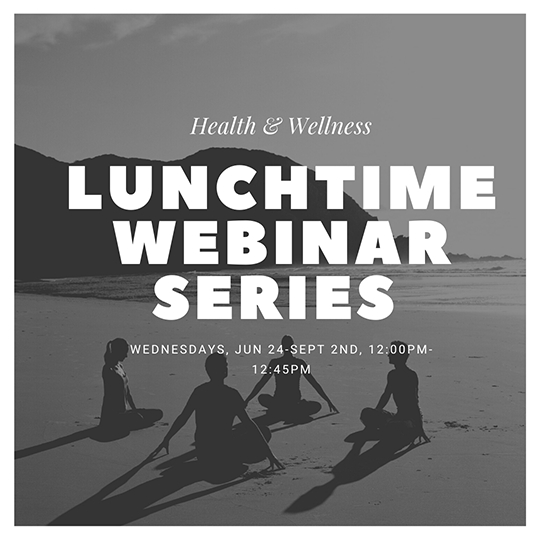 lunch webinar series